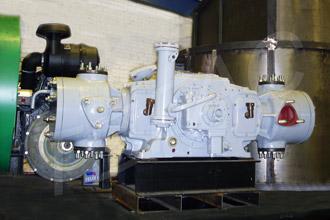Дожимающий компрессор 2ГМ2,5-1/20-40 произвордства ККЗ - монтаж на азотную установку