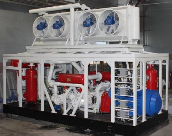 АГНКС (автомобильная газонаполнительная компрессорная станция)